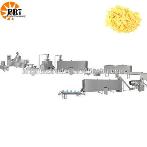 Baby Breakfast Cereal Processing Machinery extruder for corn flakes