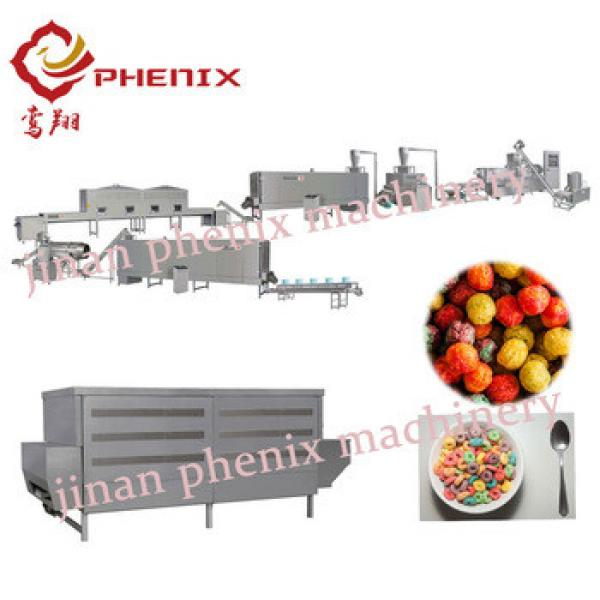 cocoa puffs breakfast food extrusion machine production line