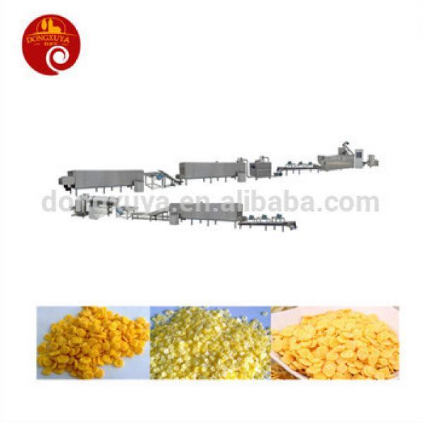 200-260kg per corn flakes breakfast cereals Processing line