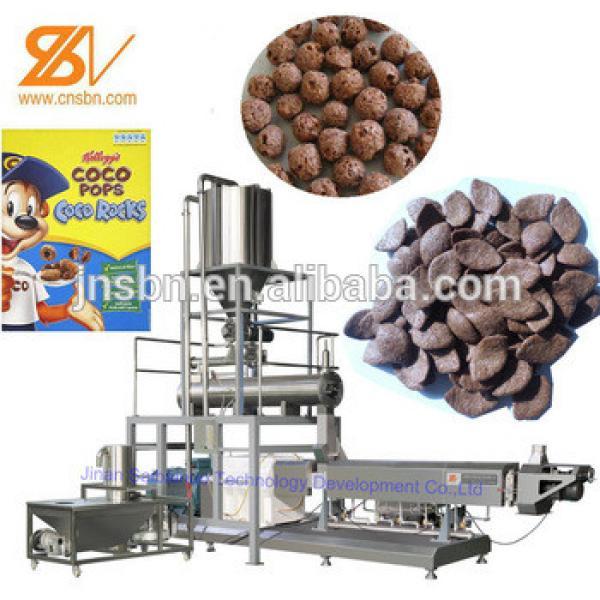 cereals snacks extrusion machine