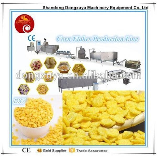 automatic corn flakes breakfast cereal production line