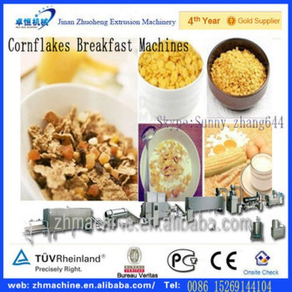 Automatic extruded choco Breakfast Cereals processing machinery
