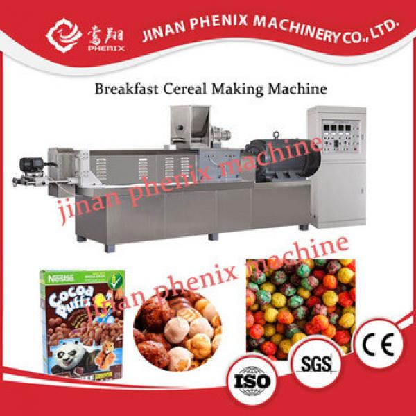Automatic Industrial breakfast cereal extruder making machine