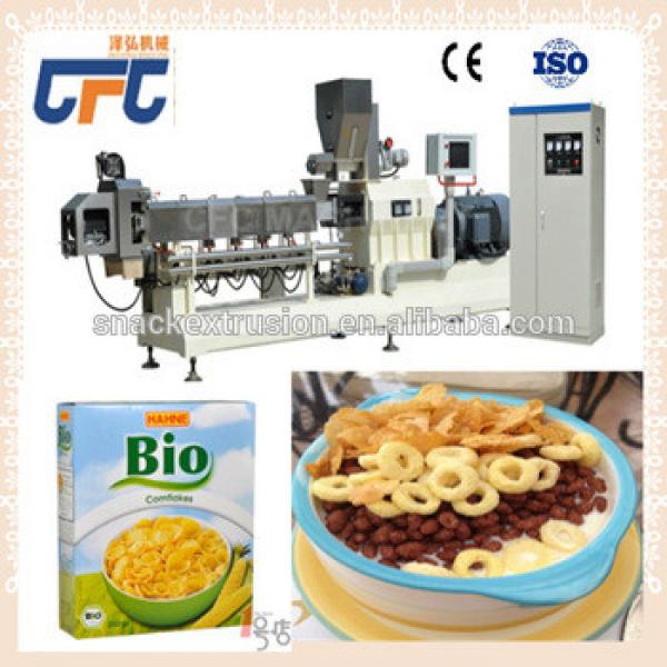 Gluten Free Bulk Breakfast Cereal Corn Flakes making machine