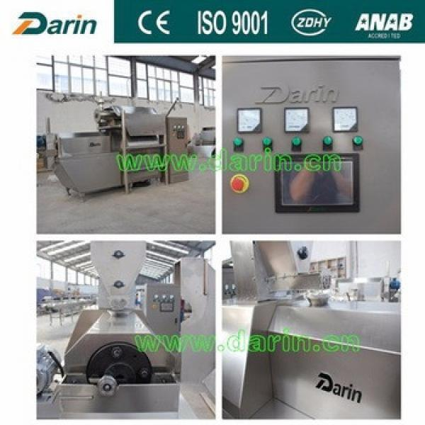Extruded corn flex flakes puff cereal snacks food production line machinery plant process machines from Darin Machinery