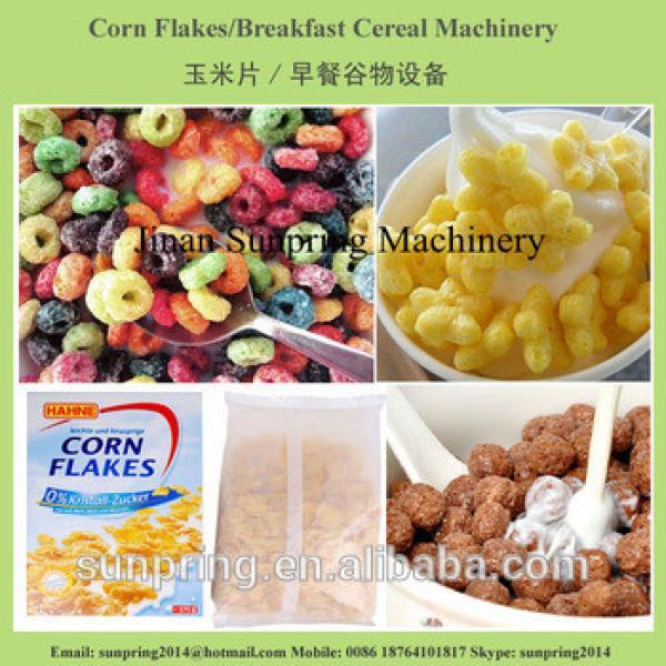 Hot sale cornflakes making machine