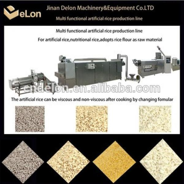 2013 good taste and professional artificial rice machine