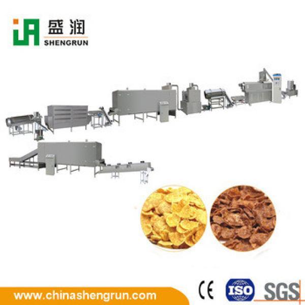 Automatic Grain Corn Flaking Breakfast Cereal Corn Flakes Production Line Machine