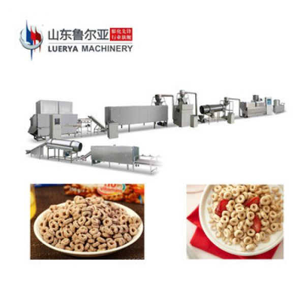 China Best high quality extrusion food machine for breakfast cereal corn flakes With Good After-sale Service