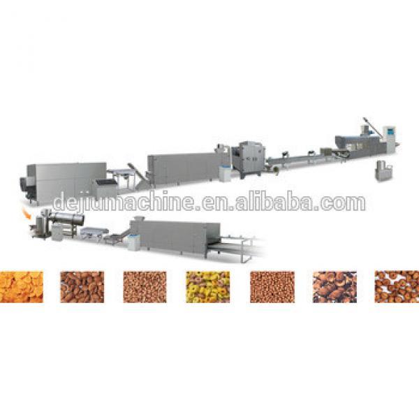 2016 China Wonderful Technology Cereal Breakfast corn flakes production line/corn flakes processing machine/pop corn machinery
