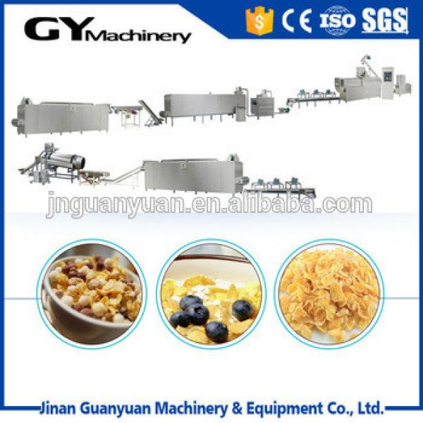 GY-2 Breakfast Cereal / Corn Flakes Process Line