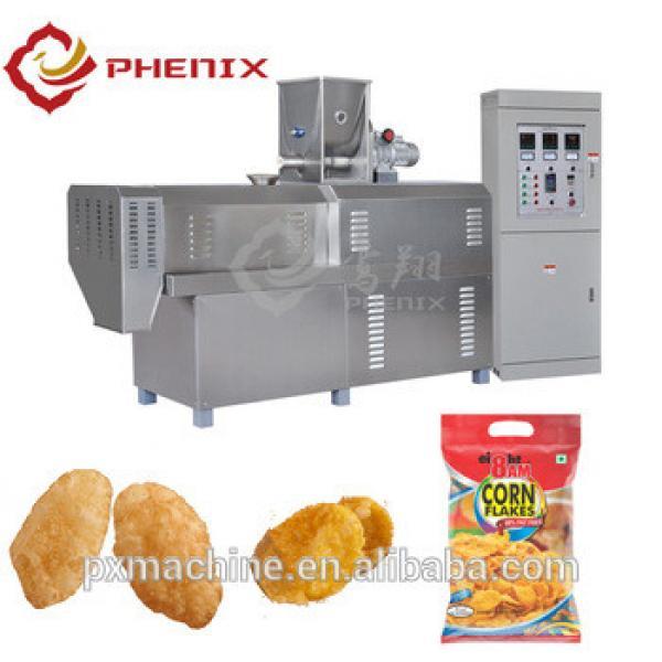 Crispy breakfast cereals corn flakes production line kelloggs