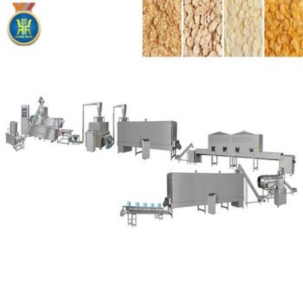 corn flakes production process machine