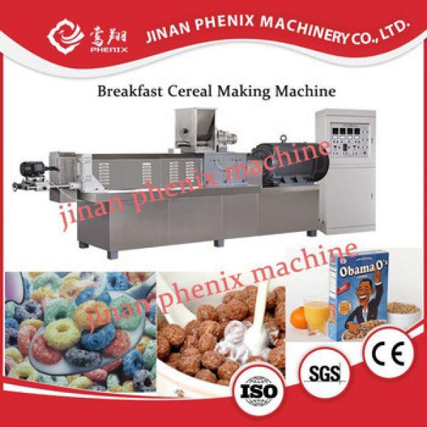 high quality cheerios weetabix Corn breakfast cereals manufacturing line