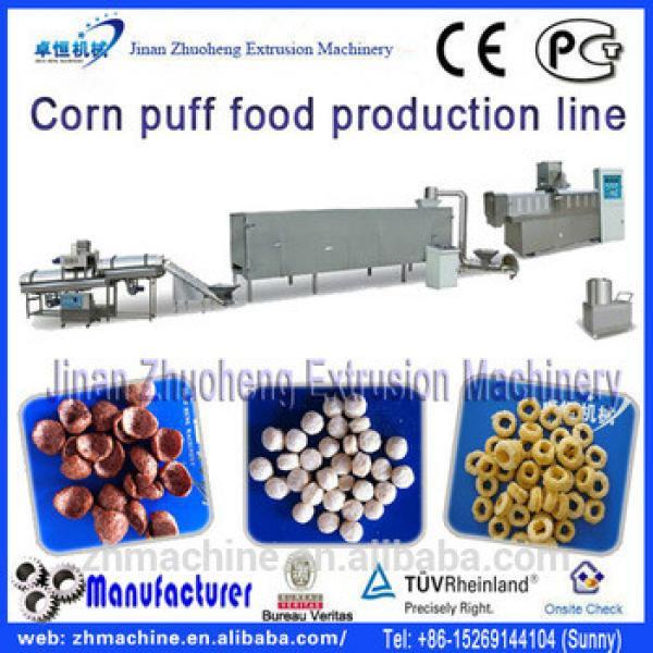 China supplier small corn flakes making machine