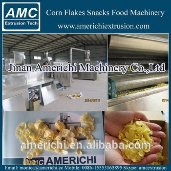Kelloggs corn flakes cereal extruder machine