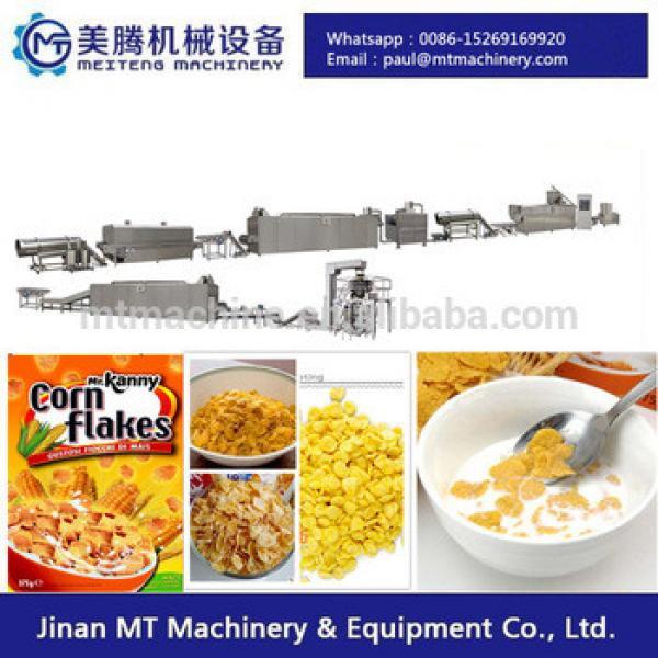 cornflakes breakfast cereal making machine