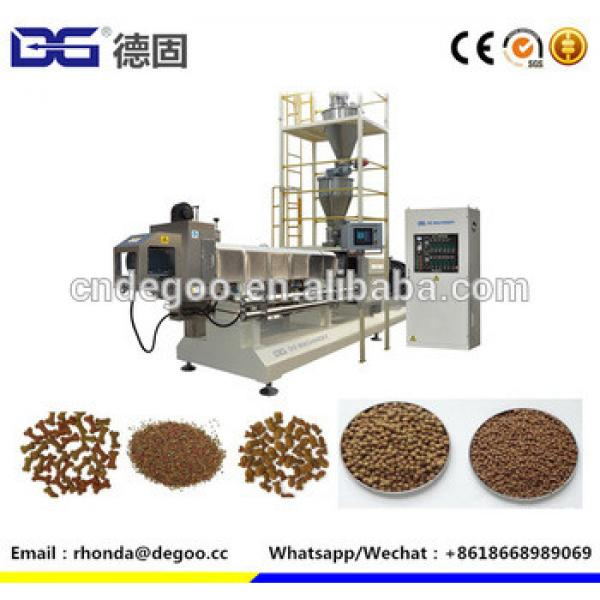 Large capacity fish food processing machine floating fish feed extruder machine