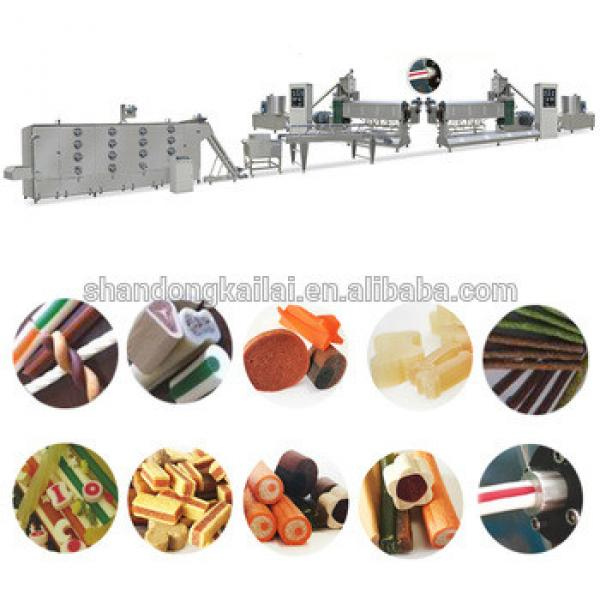 Excellent quality lovely pet dog chewing food machine