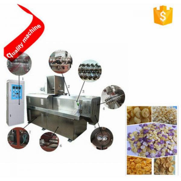 Trade Assurance breakfast cereal /corn flakes process line / corn breakfast cereals production