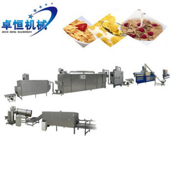 breakfast sereal corn puffed flakes making/processing machine in Jinan