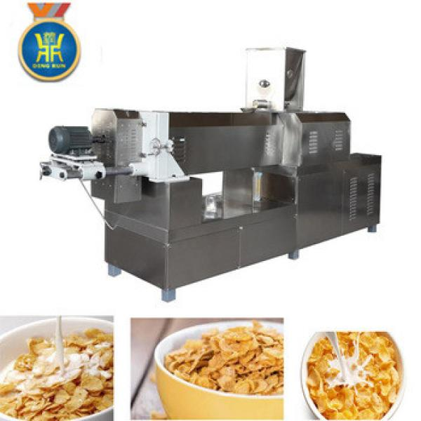 CE certificate 2017 hot sale industrial commercial cereal corn flakes machinery price