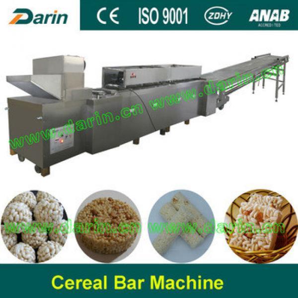 Granola bar, cereal bar, sesame bar making machine