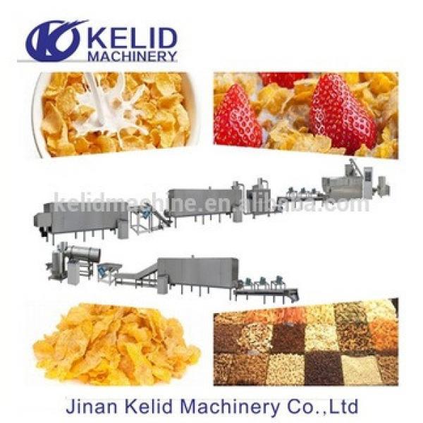 Multifunctional Breakfast Cereals corn flakes making machine maker