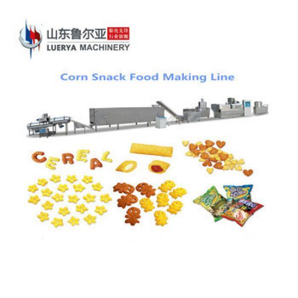 Factory Supply low price corn puff snacks extruder machine