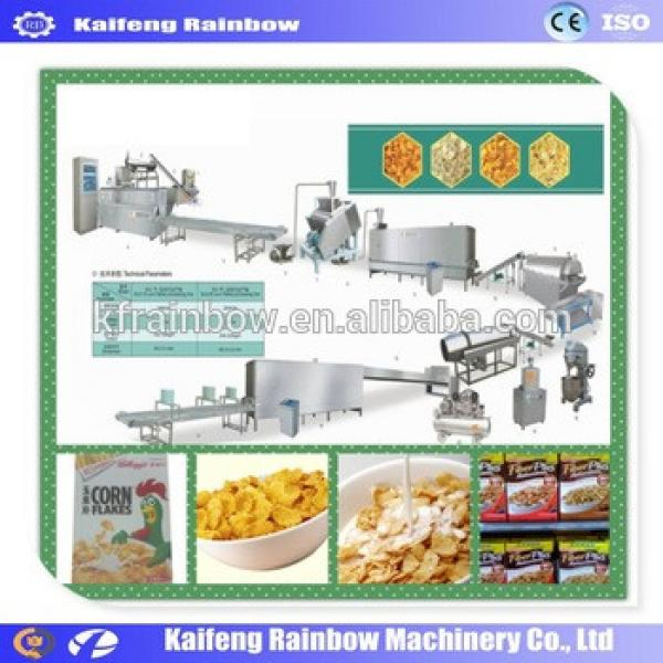 Big Discount High Efficiency Oatmeal Making Machine Breakfast Cereal Corn flake making machine