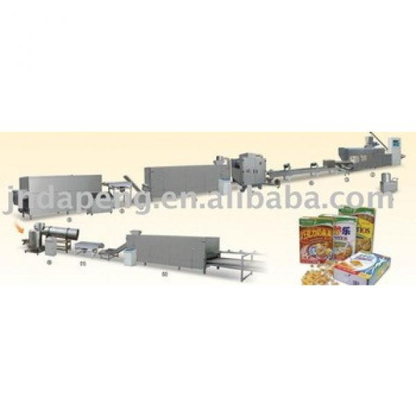 Corn flakes/breakfast cereals processing line