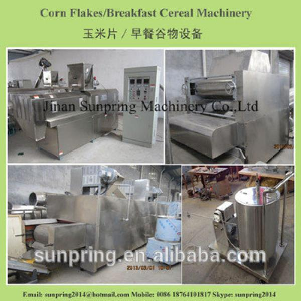 New corn flakes cereals making machines