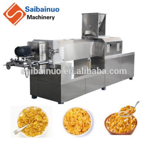 corn flake machine breakfast processing equipment