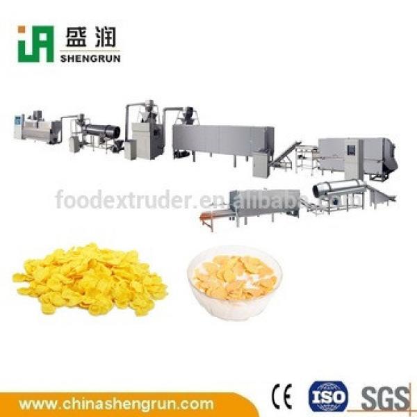 breakfast cereal corn flakes machine