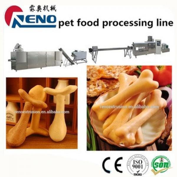 Dog chews food production line