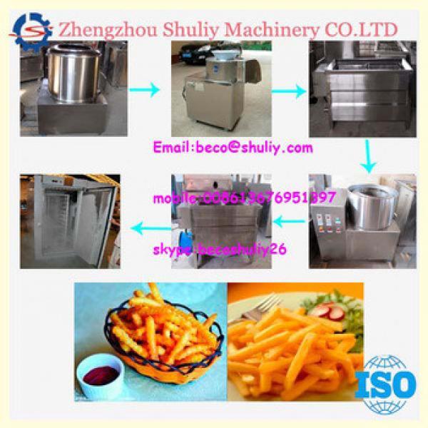 potato chips machine/fried potato chips making machine/french fries machine