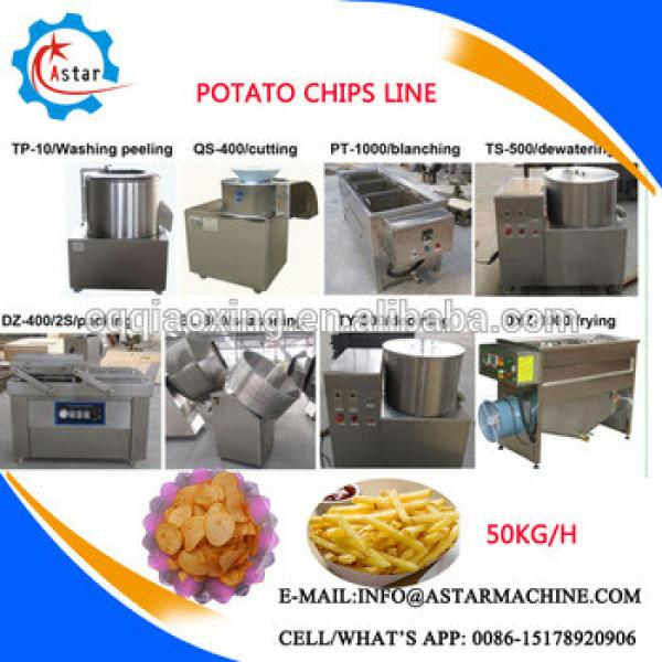 Snack Potato Chips Making Machine/Banana Chips Production Line/Potato Chips Machinery