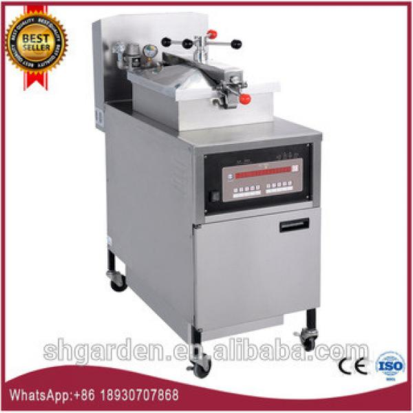 general commercial potato chips making machine deep broasted deep fried chicken machine