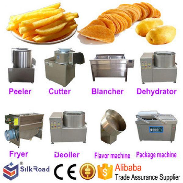 Professional chips machines potato chips making