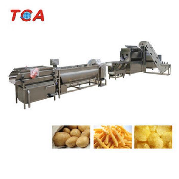 automatic potato chips line chips making machine