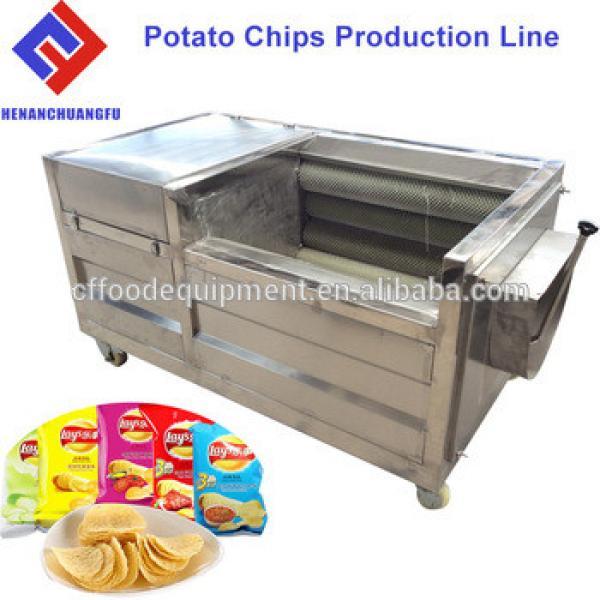 Small Scale Mini Manual Potato Chips Making Machine