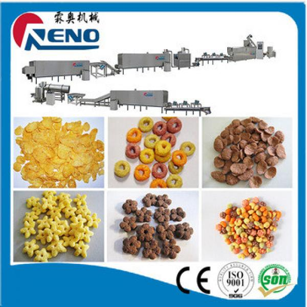 High frequency Breakfast Cereals Snacks Extruder for xcmg spares parts