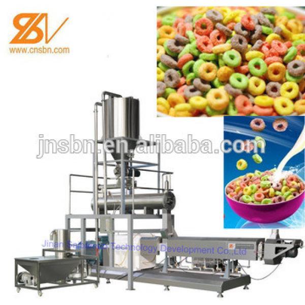 Automatic Bulk corn flakes/breakfast cereals production line