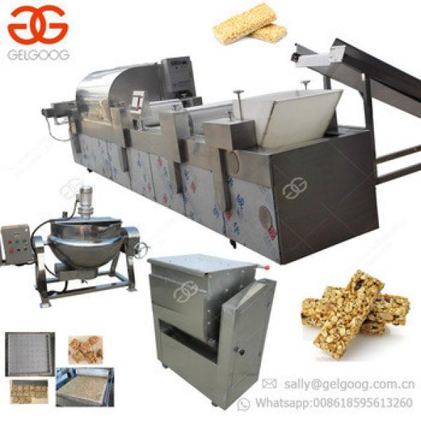 Gold Manufacturer Breakfast Muesli Maker Peanut Candy Production Line Cereal Granola Energy Protein Bar Making Machine Price