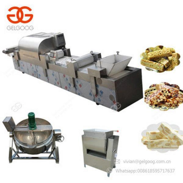 Factory Price Cereal Bar Protein Bar Granola Bar Peanut Brittle Making Crispy Peanut Candy Machine