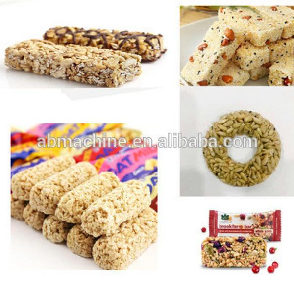granola bar machine puffed wheat making machine cereal bar machine