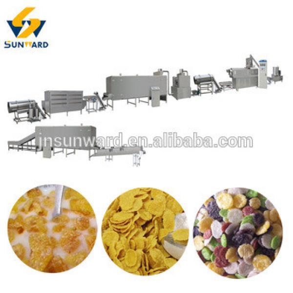 Corn flakes,breakfast cereal,bulk corn flakes processing line