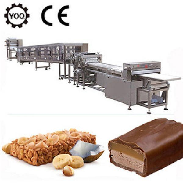 Z1409 best selling granola chocolate bar machine with low price