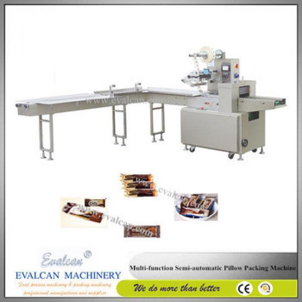 Semi-automatic granola bar packaging machine
