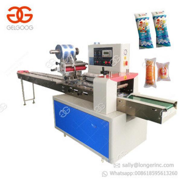 High Efficient Packing Mushroom Soap Biscuit Cookie Cheese Popsicle Sandwich Granola Energy Chocolate Bar Packaging Machine